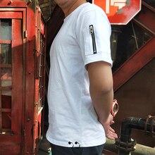 Street Style diy logo Printing cotton T-Shirt Student Teenager Tops Short-Sleeve TShirt