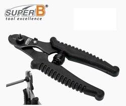 Super B TB 4574 profesjonalne szczypce do cięcia kabli rowerowych wycinarka rowerów wewnętrzne i zewnętrzne kable narzędzia do naprawy roweru w Narzędzia do naprawy roweru od Sport i rozrywka na