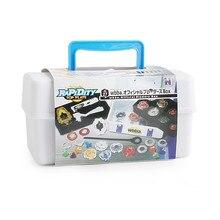 Детский портативный водонепроницаемый чехол Beyblade 8 в 1, чехол-органайзер, игрушки для детей, спиннинговая коробка Beyblade Burst Bable