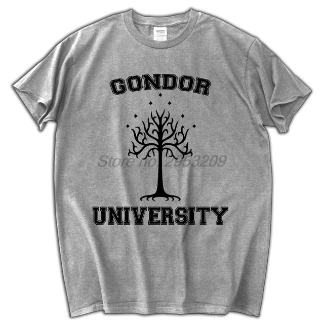 GONDOR UNIVERSITY T SHIRT 100% Cotton