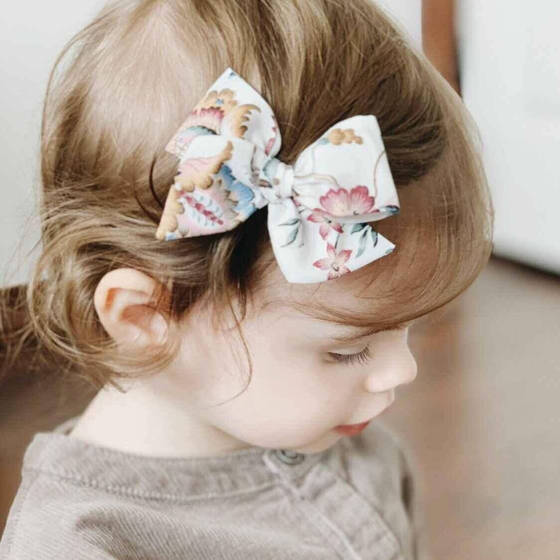 2 Pcs Thanh Thiếu Niên Tóc Lớn Cúi Chào Hôn Tóc Clip Cô Gái Trẻ Sơ Sinh Toddler Headband Bộ Mới