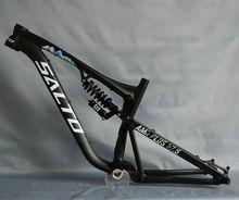 Хит продаж AMR плюс беговых мягкий хвост рама из алюминиевого сплава 6061 полный Подвеска MTB амортизатор велосипедных рам