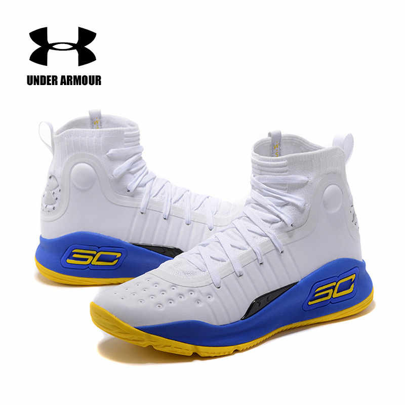size 40 0cb4c a83b2 Under Armour Basketball Shoes Men UA Curry 4 CS Shoes Light Sport Sneakers  Man zapatos Athletic