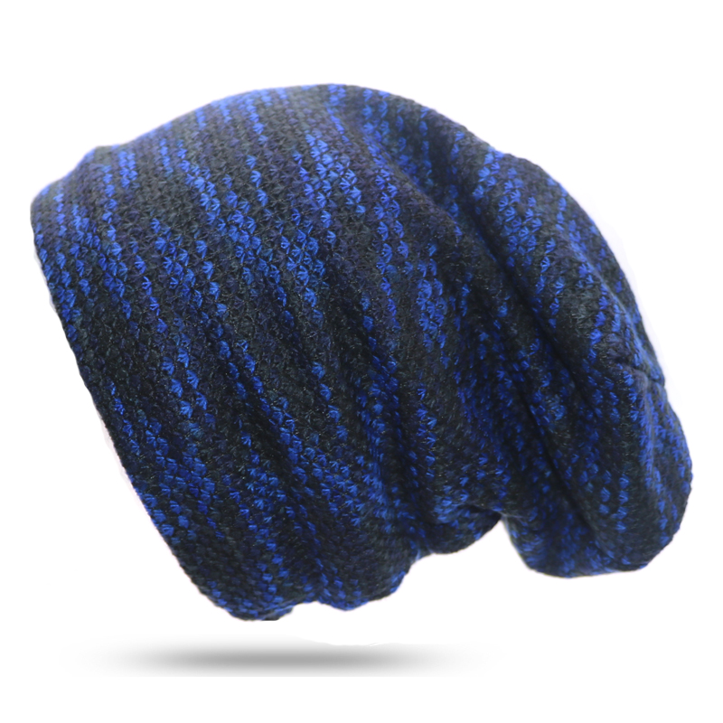 Hats and Cap Men Knitted Winter Cap Beanies For Men Hip-hop Slouch Skullies Beanie Bonnet Unisex Hat Gorro Winter Hats For Women
