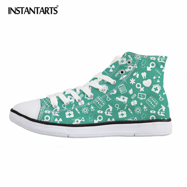 promo code 4aa2f f1f99 INSTANTARTS-Cartoon-Nurse-Print-Children-Sneakers-Stylish-Breathable-Flat-Sport- Shoes-for-Primary-Students-Lacing-Canvas.jpg 640x640.jpg