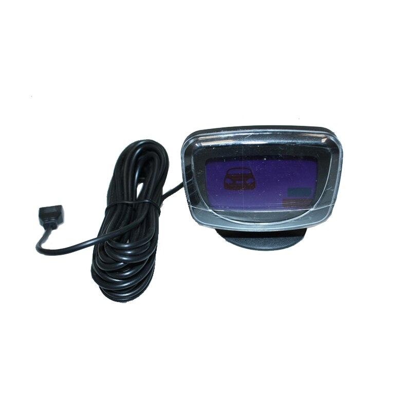 Image 5 - Car LCD Display Parking Sensor LCD 4 Reverse Parking Sensors Backup Radar Car Detector System Kit For All The Car 1set-in Parking Sensors from Automobiles & Motorcycles