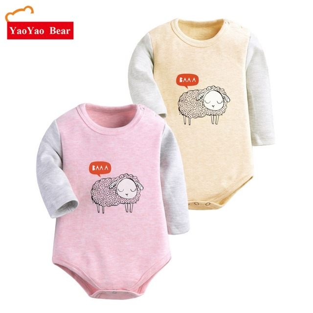 732a6f20b Unisex baby clothes Spring winter baby Rompers long sleeve fleece jumpsuit  newborn snowsuit Baby Boy Rompers costumes for girls