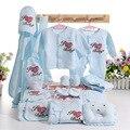 Alta qualidade 20 PCS infante recém-nascido do bebê roupas Set bebés terno Unisex 0 - 6 meses roupa do bebê primavera outono