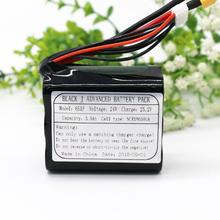 KLUOSI UAV Rechargeable Li-ion Battery 22.2V/ 25.2V 3.5Ah 6S1P Use Single Cell NCR18650GA Combination Suitable for Various Drone