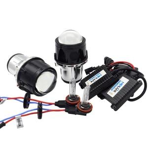 Image 2 - 2.5 inch Fog Light Bi Xenon Projector Lens 35W Xenon Kit For Toyota/Ford/Universal/Nissan Full Metal Auto H11 bulbs hid retrofit