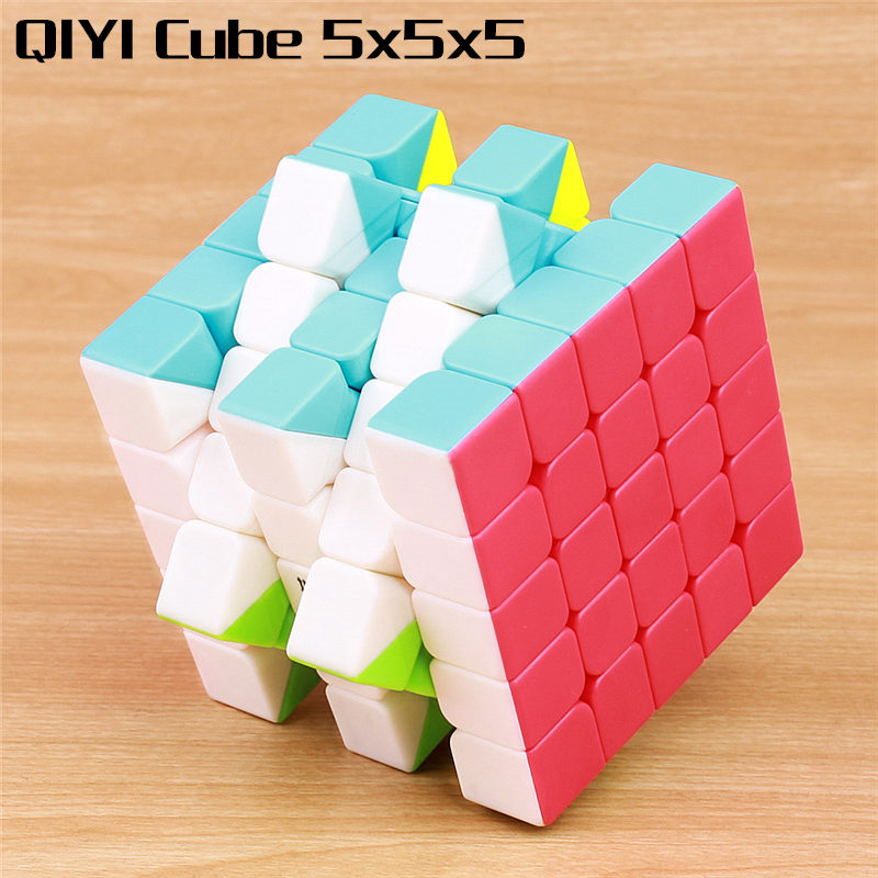 Qiyi Qizheng S 5x5x5 Magic Speed Cube Professional Stickerless Puzzles Cubo Magico Neo Cubes Educational Toys For Children