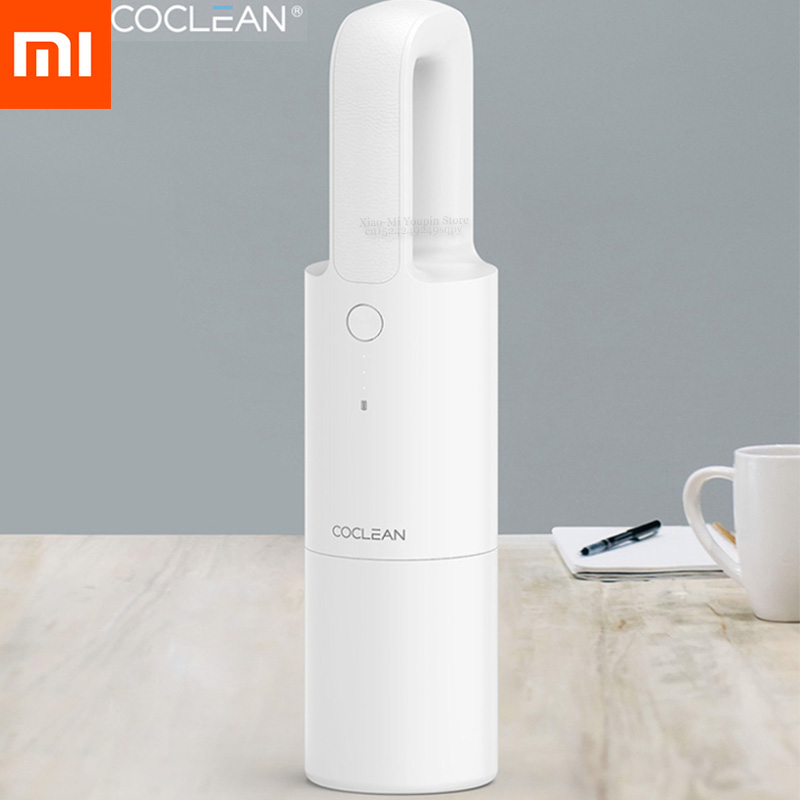XIAOMI MIJIA Cleanfly Coclean FVQ Portable Car Handheld Vacuum Cleaner For Home Wireless Mini Dust Collector Strong Suction
