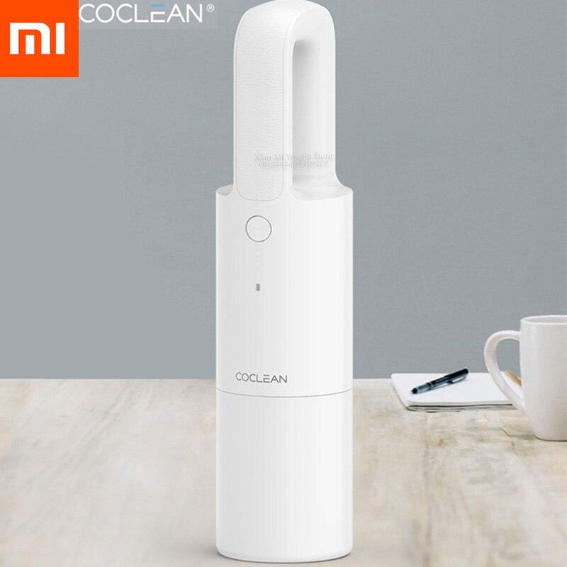 XIAOMI MIJIA Cleanfly Coclean FVQ aspirateur portatif de voiture pour la maison sans fil Mini dépoussiéreur forte aspiration