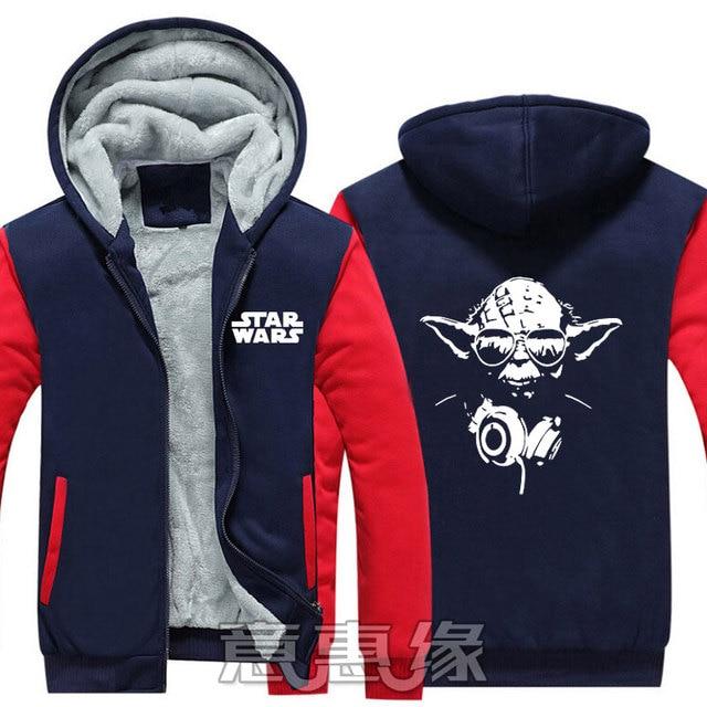 7c4afd593f US $48.97 17% di SCONTO|Nuovo Star Wars 8 Con Cappuccio Anime Star Wars Gli  Ultimi Jedi Rivestimento del Cappotto di Inverno Degli Uomini della ...