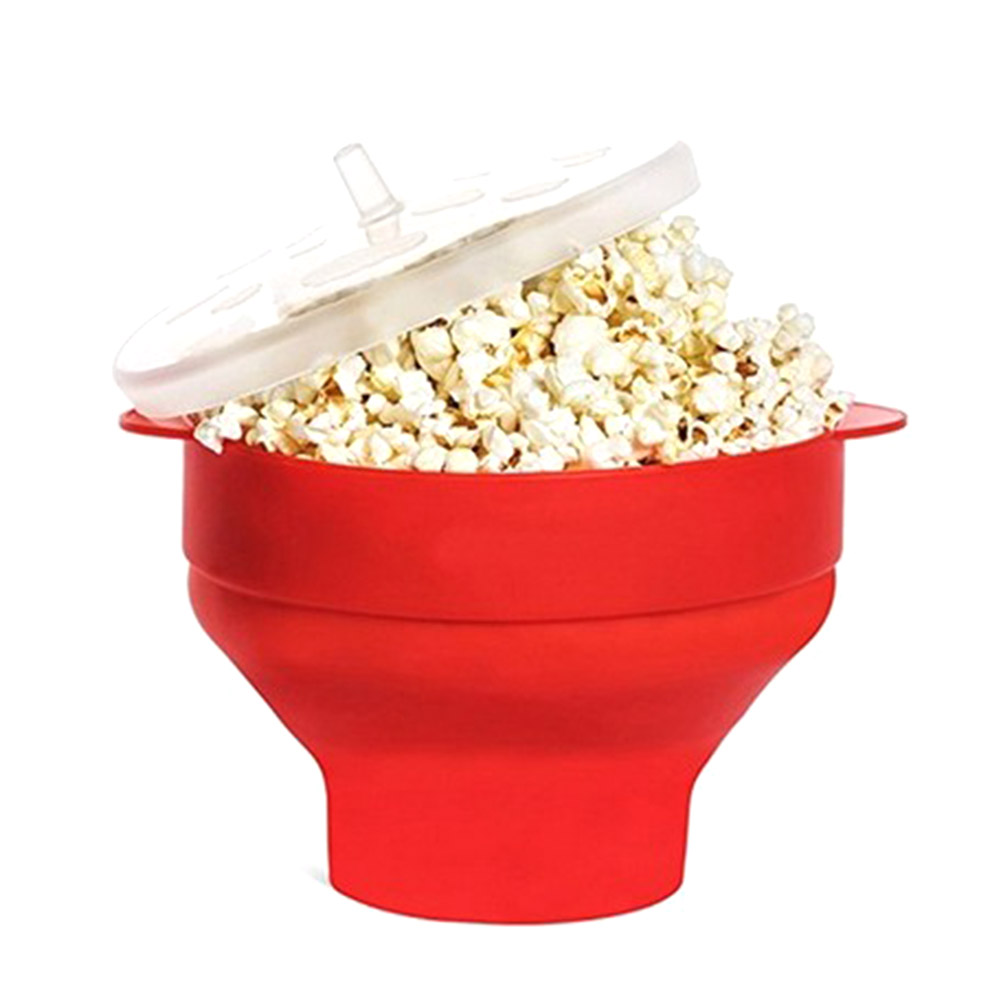 Microwave Safe Bowls Us 8 45 28 Off Microwaveable Popcorn Maker Corn Bowl With Lid Microwave Safe New Kitchen Bakingwares Diy Popcorn Bucket In Bowls From Home Garden