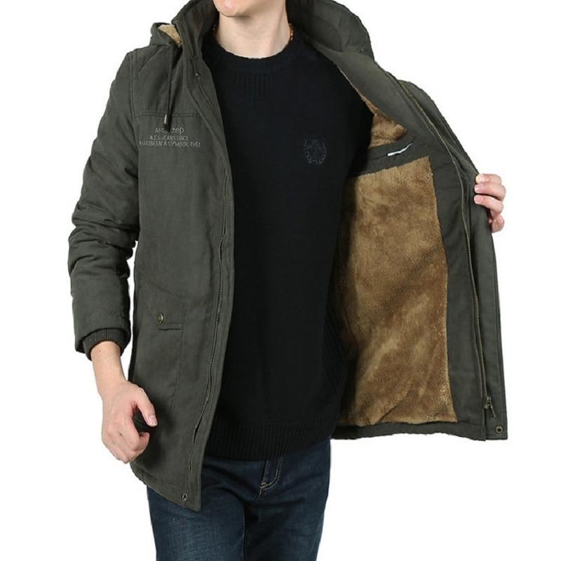 ФОТО Winter jacket men brand clothing AFS JEEP jaqueta masculina thick warm men parka coat campera hombre invierno 2016 casaco 1308