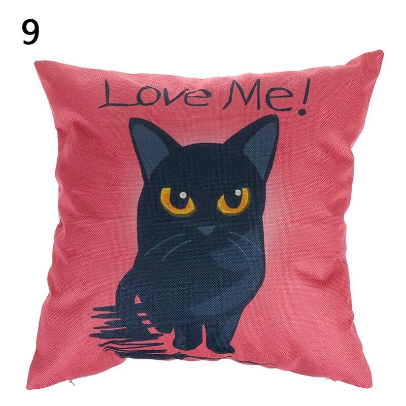 HTB10YLQOmzqK1RjSZFjq6zlCFXa5 Vintage white and black Cat Dog Cotton cute Pillow Sofa Waist Throw Cushion Home Car Decor