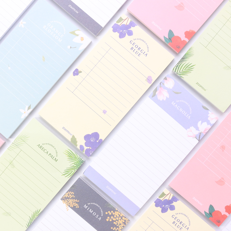 Domikee New Candy Korea Office School Desk To Do List Notes Pad Stationery Supplies,fine Kawaii Daily Schedule Memo Pad For Girl Notebooks & Writing Pads