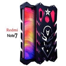 "For Xiaomi Redmi Note 7 Zimon Luxury New Thor Heavy Duty Armor Metal Aluminum Phone Case For Xiaomi Redmi Note 7 Pro Case 6.3"""