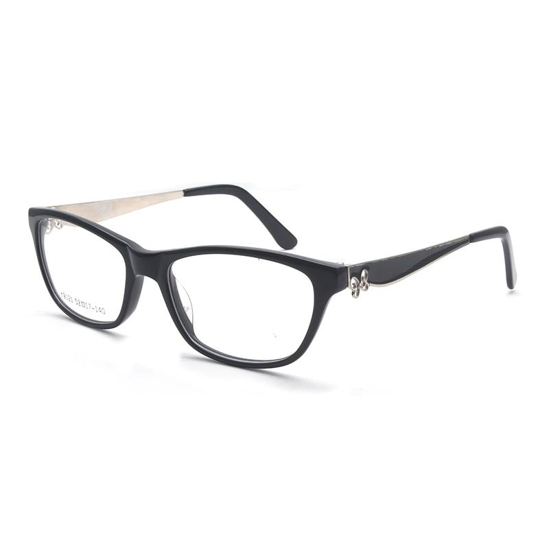 Image 2 - HOTOCHKI New Arrival Retro Eyeglasses Frames Women Butterfly Optical Prescription Elegant Female Acetate Frame oculos de grauWomens Eyewear Frames   -