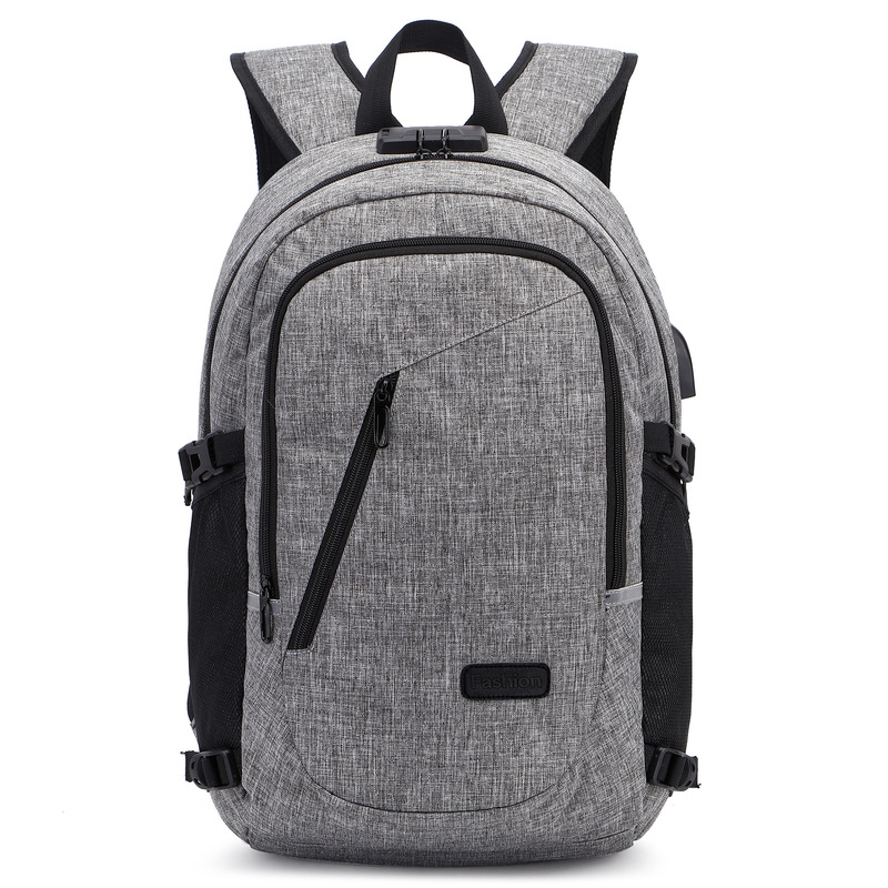 Shoulder Bag Male Casual Man College Student Bag Fashion Young Computer Bag Anti-theft Business Man Bag Travel Backpack