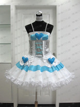 Anime Stocking Cosplay (Angel) costume  from Panty and Stocking with Garterbelt for woman /female dress цена