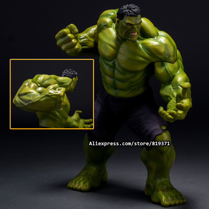 26cm Super Heroes The Marvel Avengers Select Movie Anger Hulk Action Figures Toys PVC Resin Plastic Model Statue Dolls Kids Toy high quality hulk figures the avengers super hero pvc model hulk action figures children kids best gift