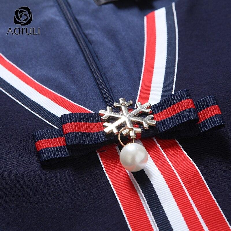 Grande L Aofuli rouge Manches Femmes Designer Printemps V Arc Taille Patchwork 4 Bleu cou 4xl À Poches xxxl A3885 Avec 5xl 3 Robe dqrfaq