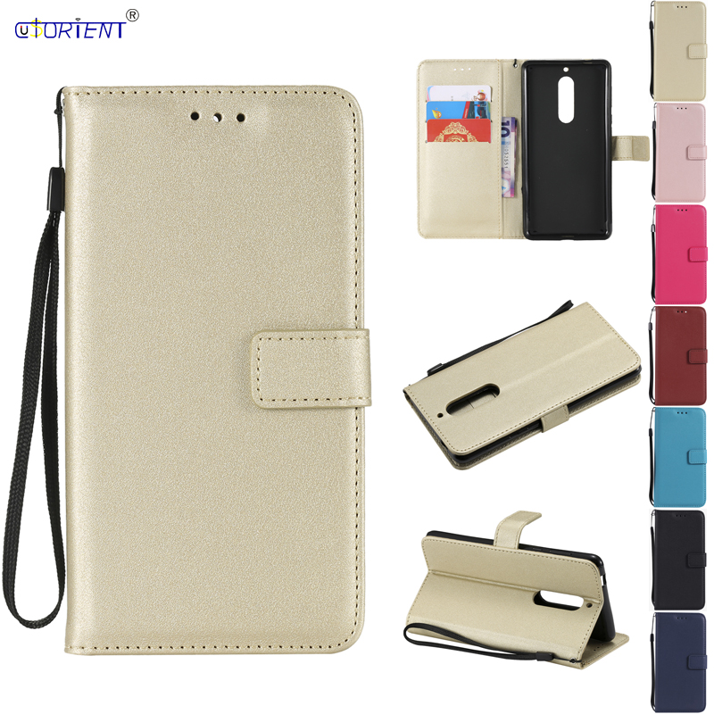 PU Leather Phone Case for Nokia <font><b>5</b></font> <font><b>TA</b></font>-<font><b>1053</b></font> <font><b>TA</b></font>-1024 <font><b>TA</b></font>-1008 Flip Case Soft Wallet Cover for Funda Nokia <font><b>5</b></font> <font><b>TA</b></font> <font><b>1053</b></font> 1024 1008 Cases image