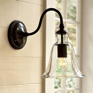 American style modern brief bed-lighting balcony american wall lamp