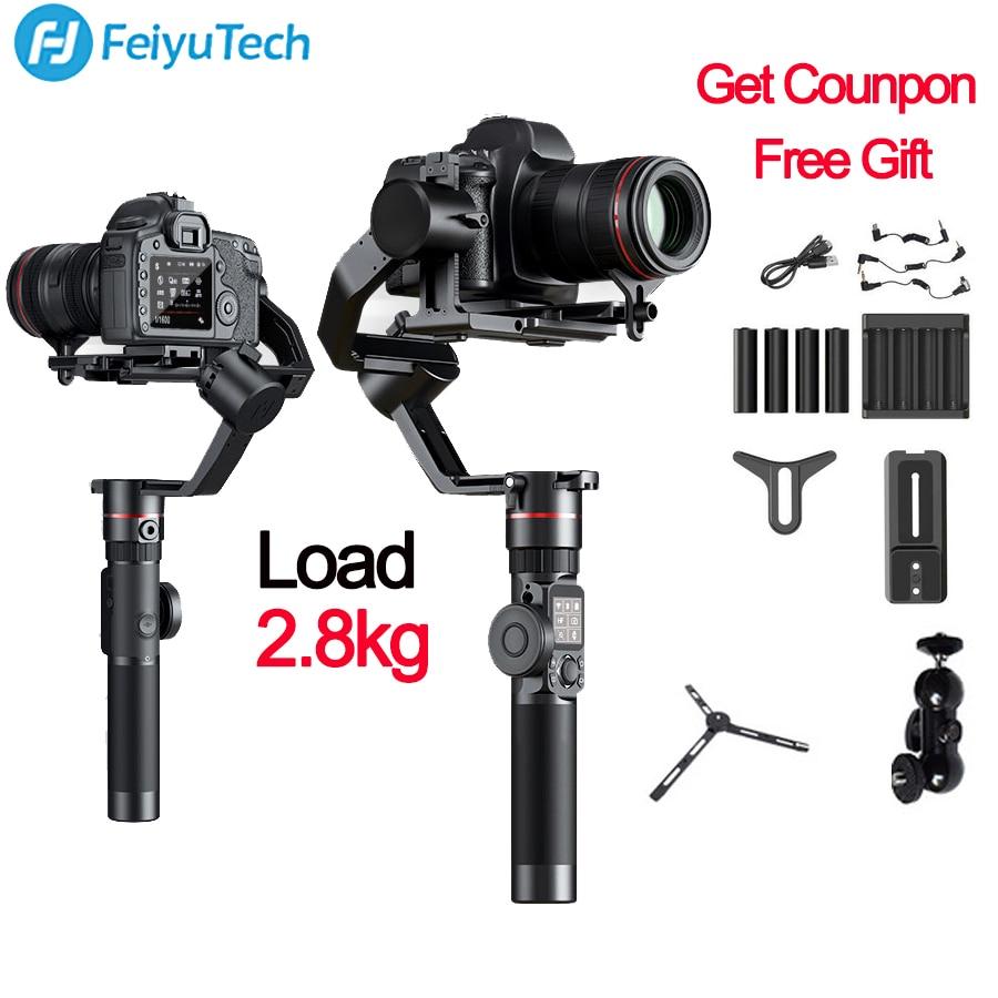 FeiyuTech Feiyu AK2000 3-Assi Della Macchina Fotografica Stabilizzatore Gimbal per Sony Canon 5D Mark 80D Panasonic GH5 Nikon D850 VS zhiyun gru 2