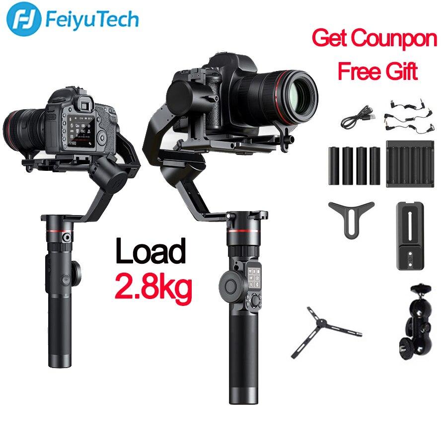 FeiyuTech Feiyu AK2000 3-Axe Caméra Stabilisateur Cardan pour Sony Canon 5D Marque 80D Panasonic GH5 Nikon D850 VS zhiyun grue 2