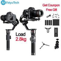 FeiyuTech Feiyu AK2000 3 Axis Camera Stabilizer Gimbal for Sony Canon 5D Mark 80D Panasonic GH5 Nikon D850 VS zhiyun crane 2