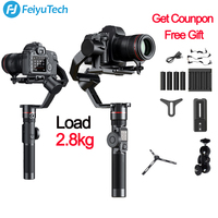 FeiyuTech Feiyu AK2000 3 Axis Camera Stabilizer Gimbal for Sony Canon 5D Mark 80D Panasonic GH5 Nikon D850 VS zhiyun crane 2