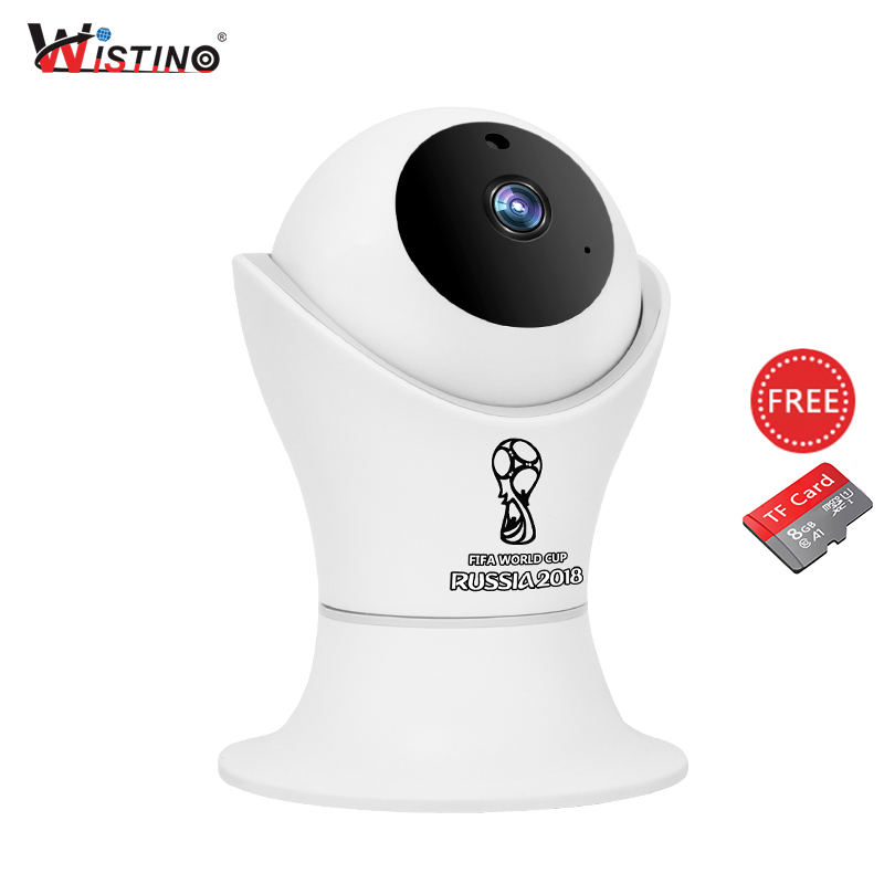 Wistino 1080P Wifi IP Camera World Cup Indoor CCTV Security Camera Wireless 2MP Video Baby Monitor IR Night Vision Surveillance dog tag press machine manual 52 d characters for steel metal embossing in dog tag