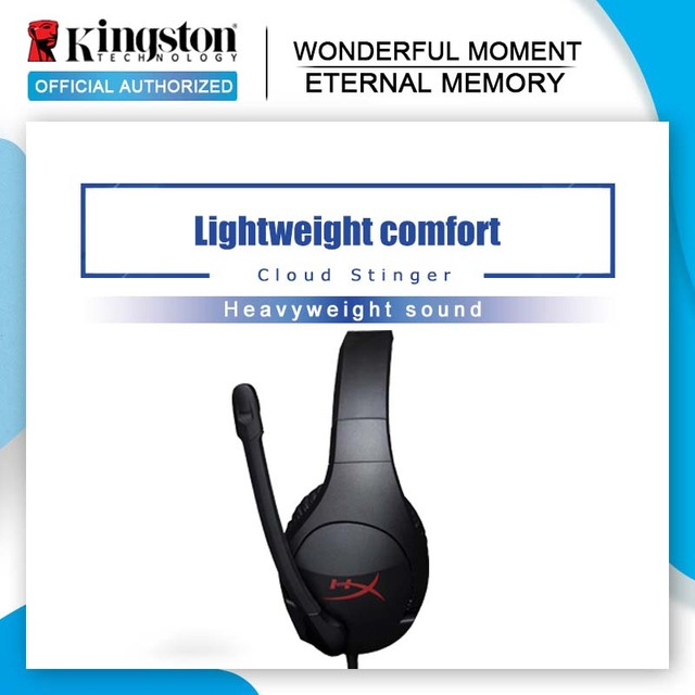 Original Kingston HyperX Cloud Stinger Gaming Headset Headphones With a microphone Microphone Mic For PC