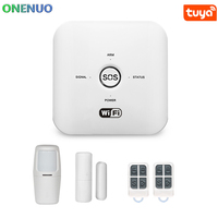 Wireless GSM&WIFI Home Security Alarm System Tuya Smart Alarm System Tuya app