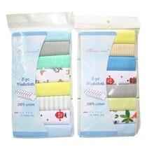 100% algodón toallas para bebé recién nacido Saliva Toalla de toalla bebé niños niñas Bebe Toalha pañuelo de tela Dropshipping. Exclusivo. KF011