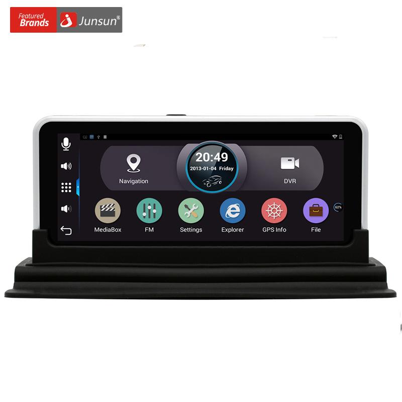"""Prix pour Nouveau 6.5 """"IPS Voiture GPS Navigation Android 4.4 Arrière vue DVR Caméra FHD 1080 Vidéo Enregistreur WIFI Bluetooth Véhicule gps Navigator"""