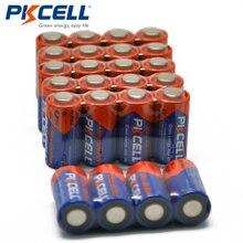 25 шт. батарейки PKCELL 6 V 4LR44 L1325 PX28A 476A A544 28A сухая щелочная батарея батареи Bateria
