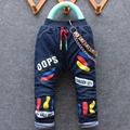 2016 winter arrival new item boy and girl thick jeans pant kid cute denim pant  1-4 years many designs