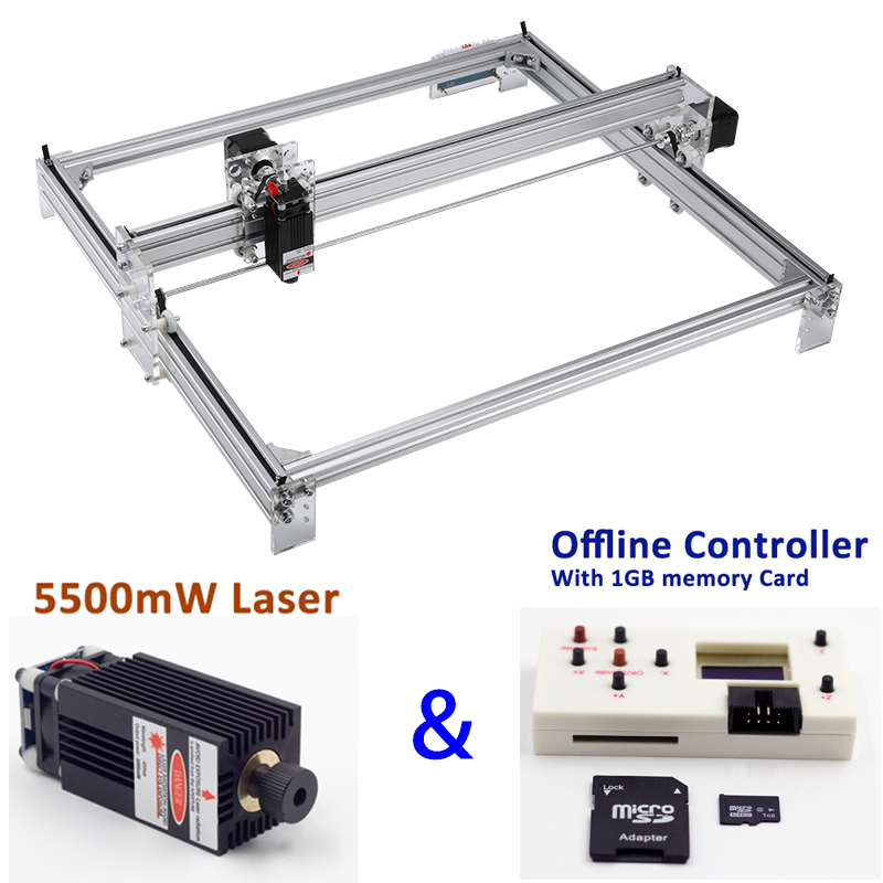 Mini Laser Engraving CNC Machine Made Of Aluminum alloy and Acrylic Frame Material for Wood 13