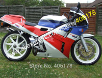 Hot Sales,Fairing Kits for Honda VFR400R NC30 V4 88 92 VFR400 1988 1989 1990 1991 1992 HRC Motorcycle Fairing Bodykits