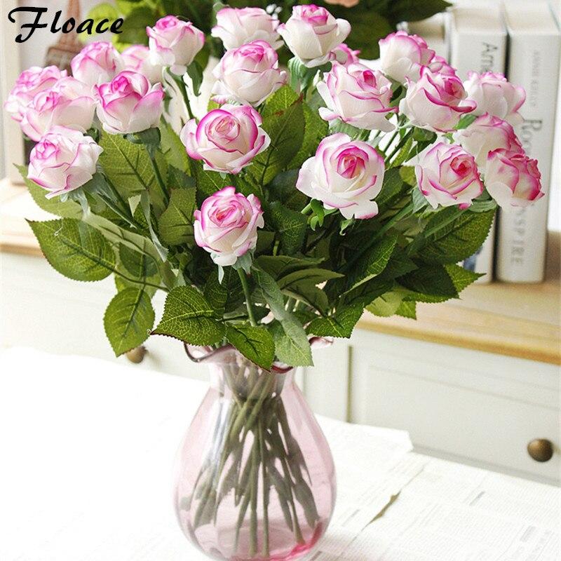 Floace 2017 nueva Seda Encolado PU Rosas Flores Decorativas - Para fiestas y celebraciones