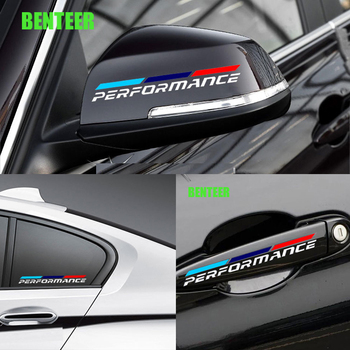 PVC car body sticker for bmw E30 E34 E36 E39 E46 E53 E60 E61 E70 E71 E85 E87 E90 E91 E92 E83 F10 F20 F21 F30 image