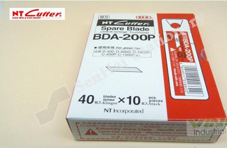Япония резак NT BDA-200P 45 градусов угол перочинного ножа 400 шт./лот