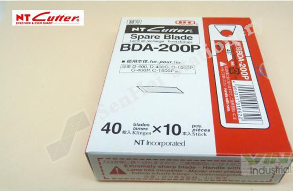 Japan BDA-200P 45-degree Angle Pen Knife 400pcs/Lot