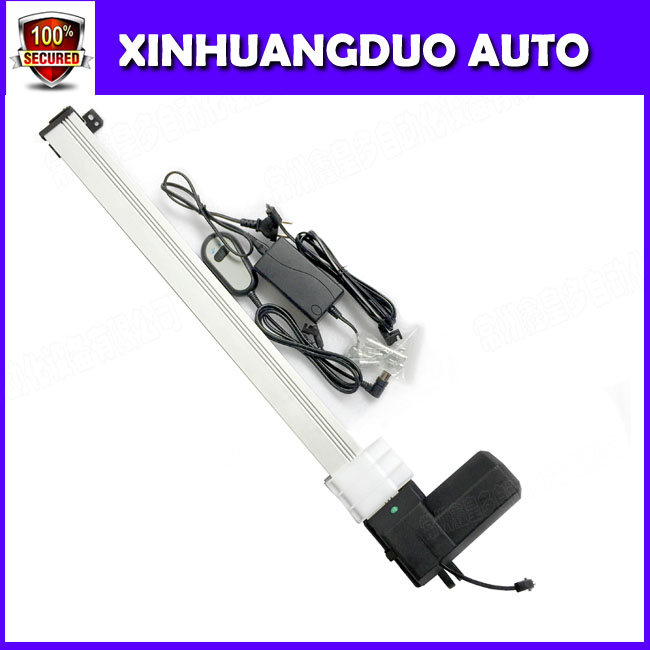 Linear actuator with mounting brackets tv lift system and control 600mm stroke 1 set