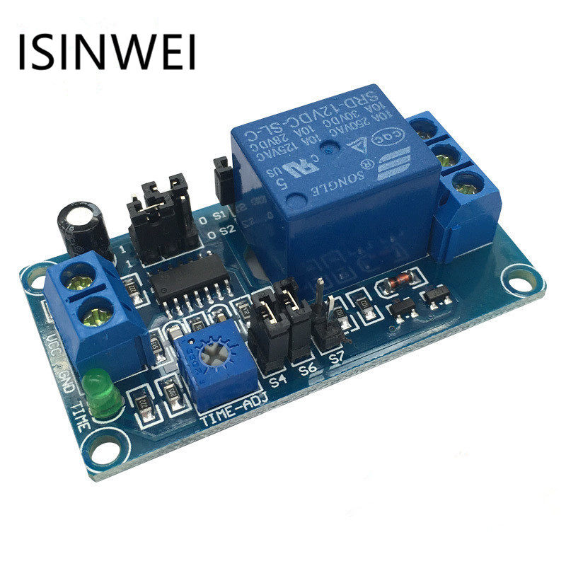 Dc 5v 12v Delay Relay Module Delay With Timer Turn On