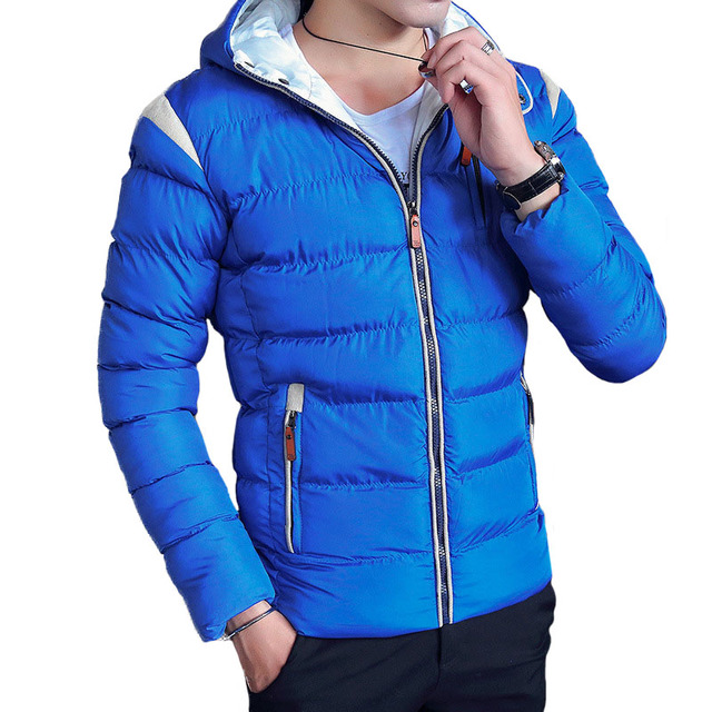 Cheap Wholesale Parka Men 2017 New Winter Men's Jacket Warm Hooded ... : are quilted jackets warm - Adamdwight.com